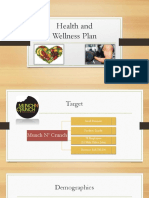 health and wellness plan