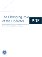 Changing Role of the Operator Wp Gfa791