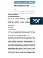 CONFLICTO MINERO SHAHUINDO