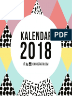 kalendar 2018 cikgugrafik