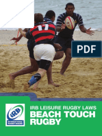 Beach Touch Rugby En