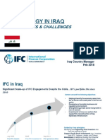 IFC Strategy in Iraq