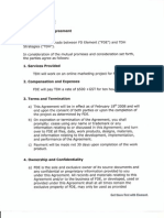Element TDH Agreement April2009