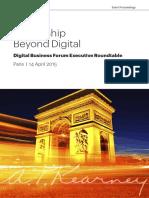 Leadership Beyond Digital - DBF Paris