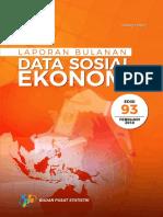 Laporan Bulanan Data Sosial Ekonomi Februari 2018