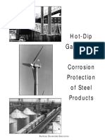 Hot-Dip Galvanizing for Corrosion Protection of Steel Products