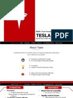 Team Presentation (TESLA)