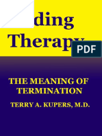 Ending Therapy - Terry Kupers