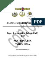 Jsu Matematik Pat t5