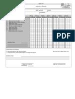 FRM Check List Vibropison Camarg