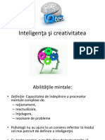 5.Creativitate Și Inteligență
