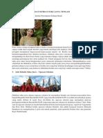 Adat Istidat Suku Jawa Tengah