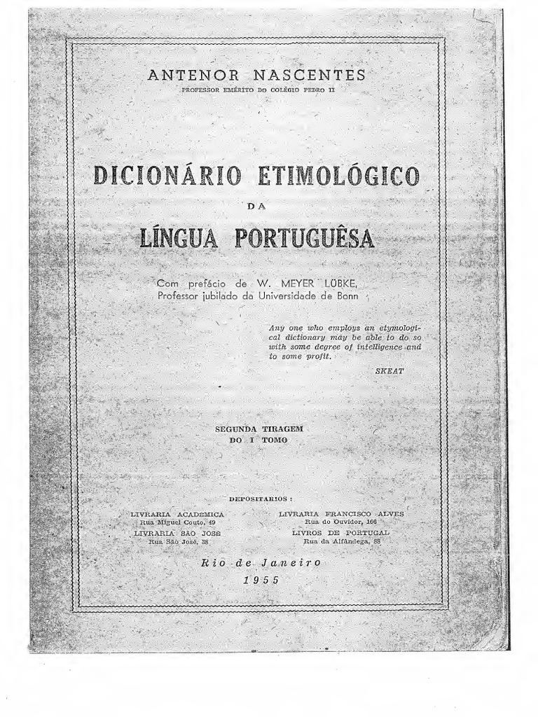 Dicionrio etimolgicopdf fandeluxe Images