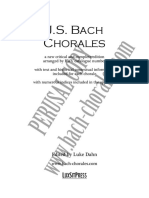 Bach Chorales Dahn Edition Sample