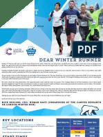 2018 London Winter Run Event Guide