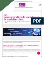 Les nouveaux métiers du marketing et de la relation client - Elaee.pdf