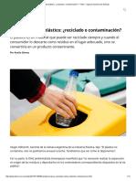 Los caminos del plástico_ ¿reciclado o contaminación_ - Télam - Agencia Nacional de Noticias.pdf