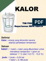 10 KALOR