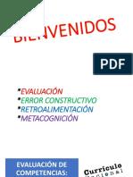 XAVIER EVALUACIÓN - RETROALIMENTACIÓN - ERROR - METACOGNICIÓN.pptx