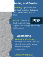 Science Weathering Lesson