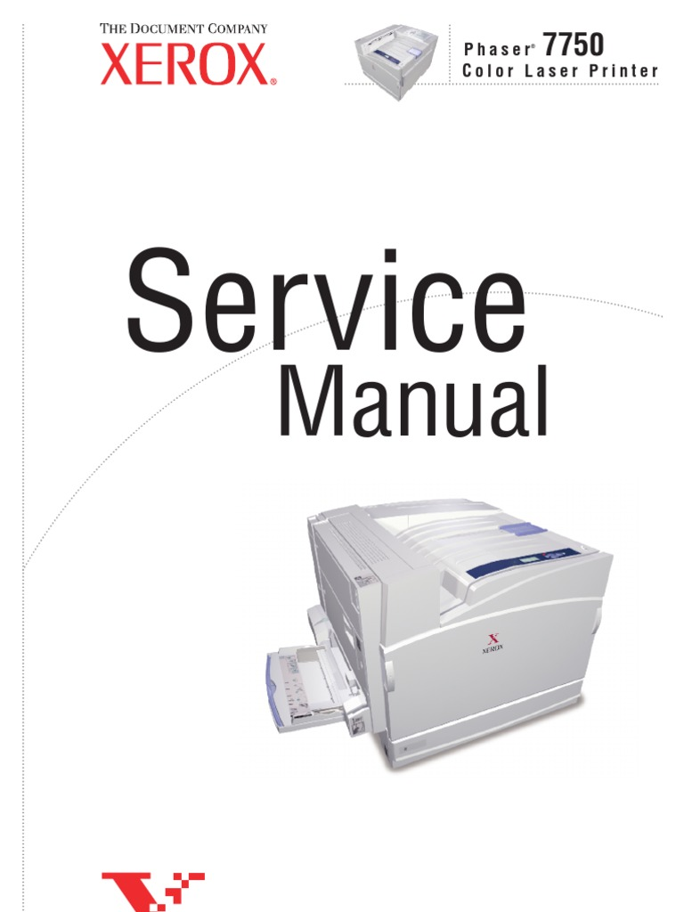 Phaser 7750 Service Manual | Electrostatic Discharge | Printer (Computing)