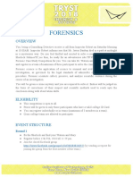 Forensic Case Study Competition