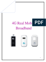 Contract Proposal- 4G LTE