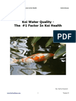 Koi Water Quality