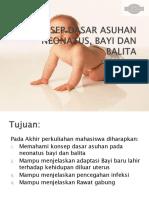 Konsep Dasar Asuhan Neonatus, Bayi Dan Balita