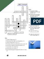 Light Crossword