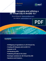 Creating Managing and Utilizing a 3d Virtual City