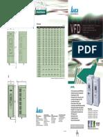Delta VFD-M SVC Micro Drives