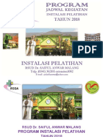 Program Instalasi Pelatihan 2018 Fixed
