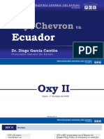 Oxy  y Chevron Resumen