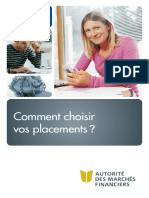 AMF Comment Choisir Placements