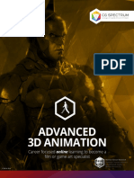 Advanced 3D Animation Course Brochure v.5