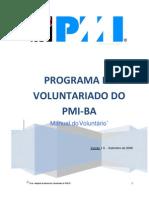 Manual Do Voluntario Pmi-ba