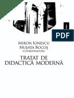 317777730 Miron Ionescu Bocos Tratat de Didactica Moderna Paralela 45 2009 PDF