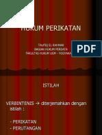 Hukum Perikatan Ppm