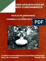 Excavaciones Arqueologicas en Guadero-Cundinamarca