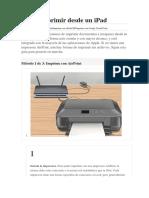 Cómo imprimir desde un iPad.docx