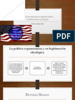Inversión Extranjera y Expansionismo Norteamericano y Europeo
