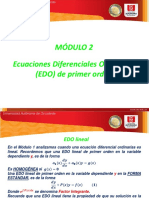 Modulo 2 Edo de Primer Orden Parte 2