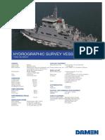 Product Sheet Damen Hydrograchic Survey Vessel 6613 YN 556053 TRAN DAI NGHIA