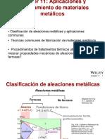 Clase 9a. Tipos de Materiales de Ingeniería y Procesos de Fabricación (Metales)