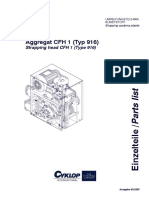 Parts List CFH 1 Typ 916
