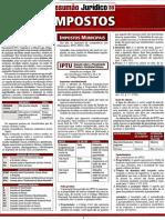 Resumão Juridico 38 Impostos.pdf