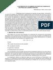 Ensayo-problema en La Estimacion de Volumenes de Aporte de Cuencas de Una Presa en La Sierra Peruana