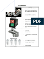 List of Machine Parts