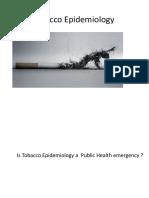 Epidemiology tobacco